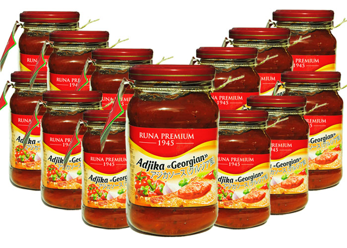 Adjika Georgian pack 12pcs