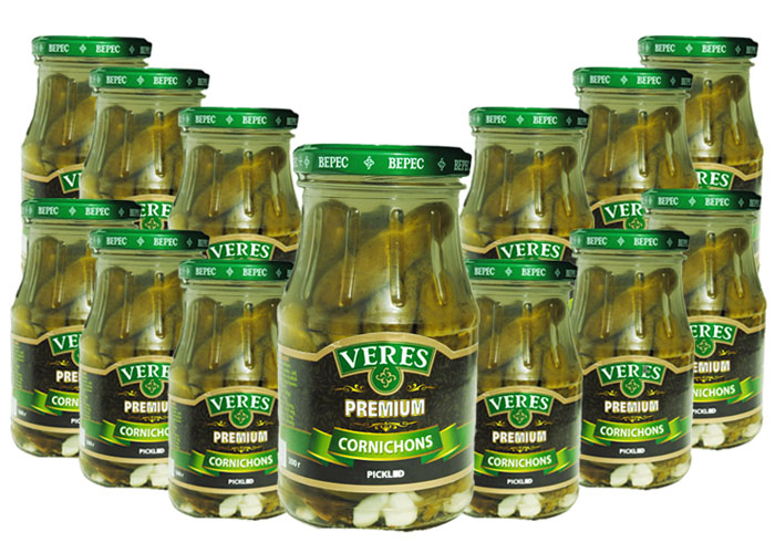 Cucumber Pickled pack 12pcs