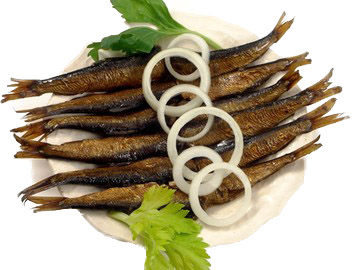 Smoked herring in oil pack 72 pcs